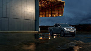 Hintergrundbilder Renault Graue Pick-up 2019 Alaskan Worldwide automobil