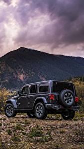 Fotos Jeep Hinten 2018 Wrangler Sahara Autos