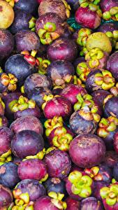 Fondos de Pantalla Frutas Muchas Mangostán Alimentos