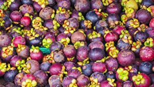 Hintergrundbilder Obst Viel Mangostan