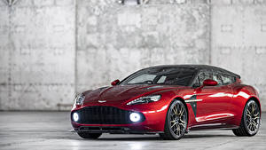 Fotos Aston Martin Rot Metallisch 2018-19 Vanquish Zagato Shooting Brake Zagato Autos