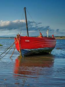 Hintergrundbilder Vereinigtes Königreich Küste Boot Wolke Morecambe Bay Natur