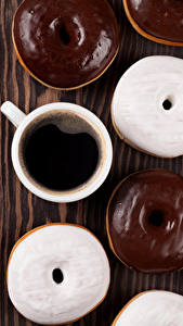 Image Coffee Doughnut Chocolate Boards Cup Food