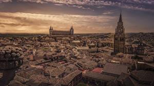 Hintergrundbilder Toledo Spanien Gebäude Dach Turm