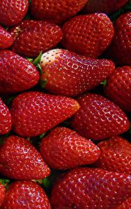 Bilder Erdbeeren Viel Großansicht Lebensmittel
