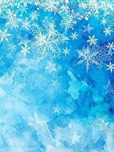 Fotos Textur Neujahr Schneeflocken