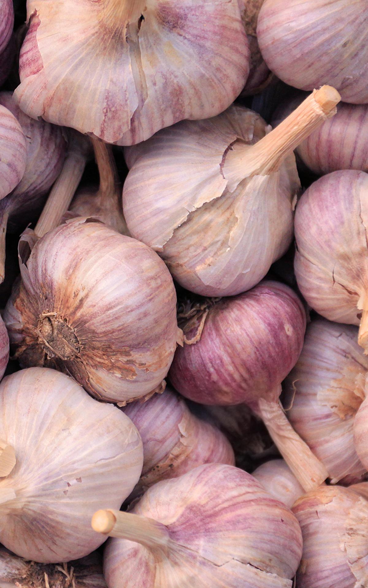 Hintergrundbilder Textur Knoblauch Lebensmittel Großansicht 1200x1920
