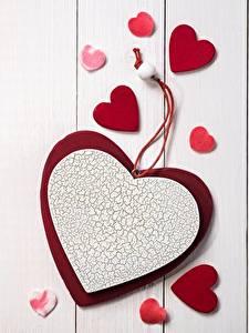 Bilder Valentinstag Herz Bretter