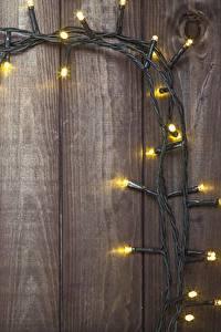 Bilder Bretter Vorlage Grußkarte Lichterkette