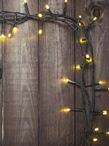 Image Boards Template greeting card Fairy lights