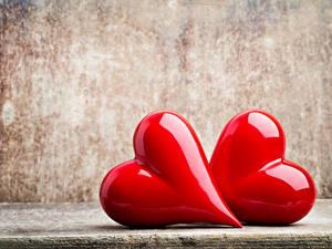 Papéis de parede Dia dos Namorados Coração 2 Vermelho