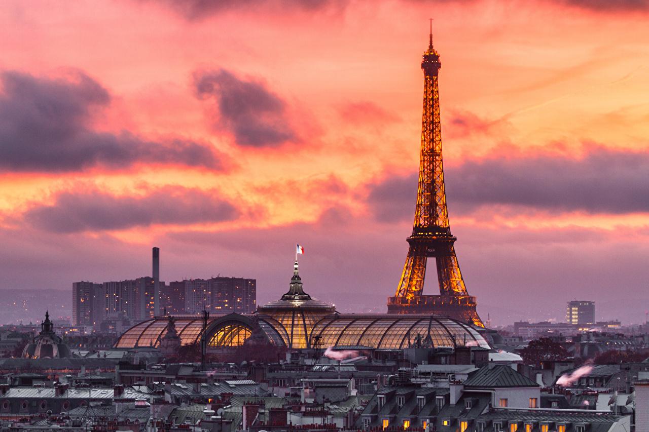 壁紙 フランス 住宅 パリ エッフェル塔 都市 ダウンロード 写真