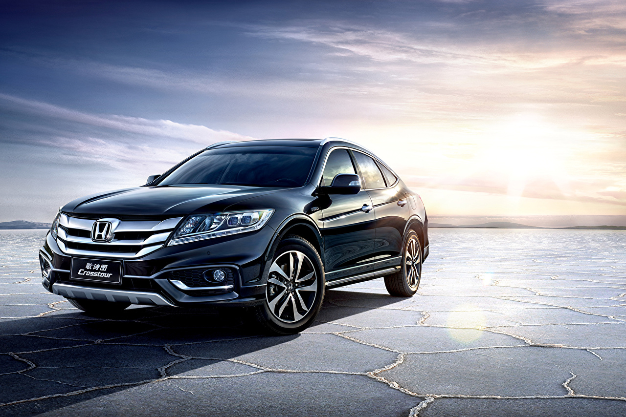 Images Honda 2014 Crosstour Blue Metallic automobile Cars auto