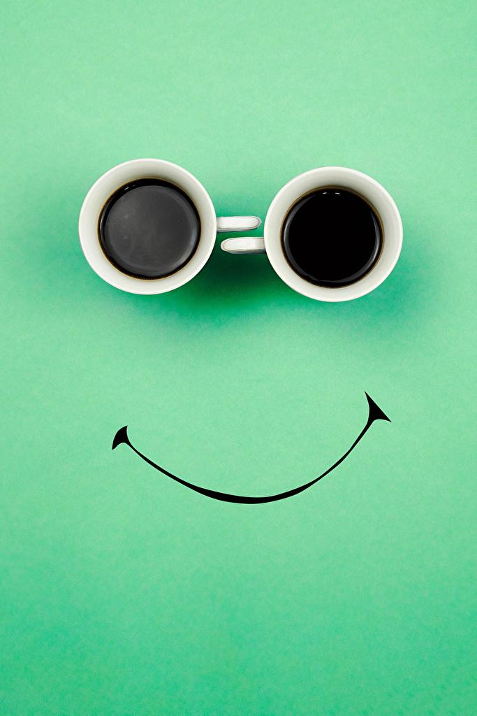 Bakgrunnsbilder til skrivebordet To 2 Kaffe originale Mat Tekopp Farget bakgrunn  til Mobilen kreativ Kreativa