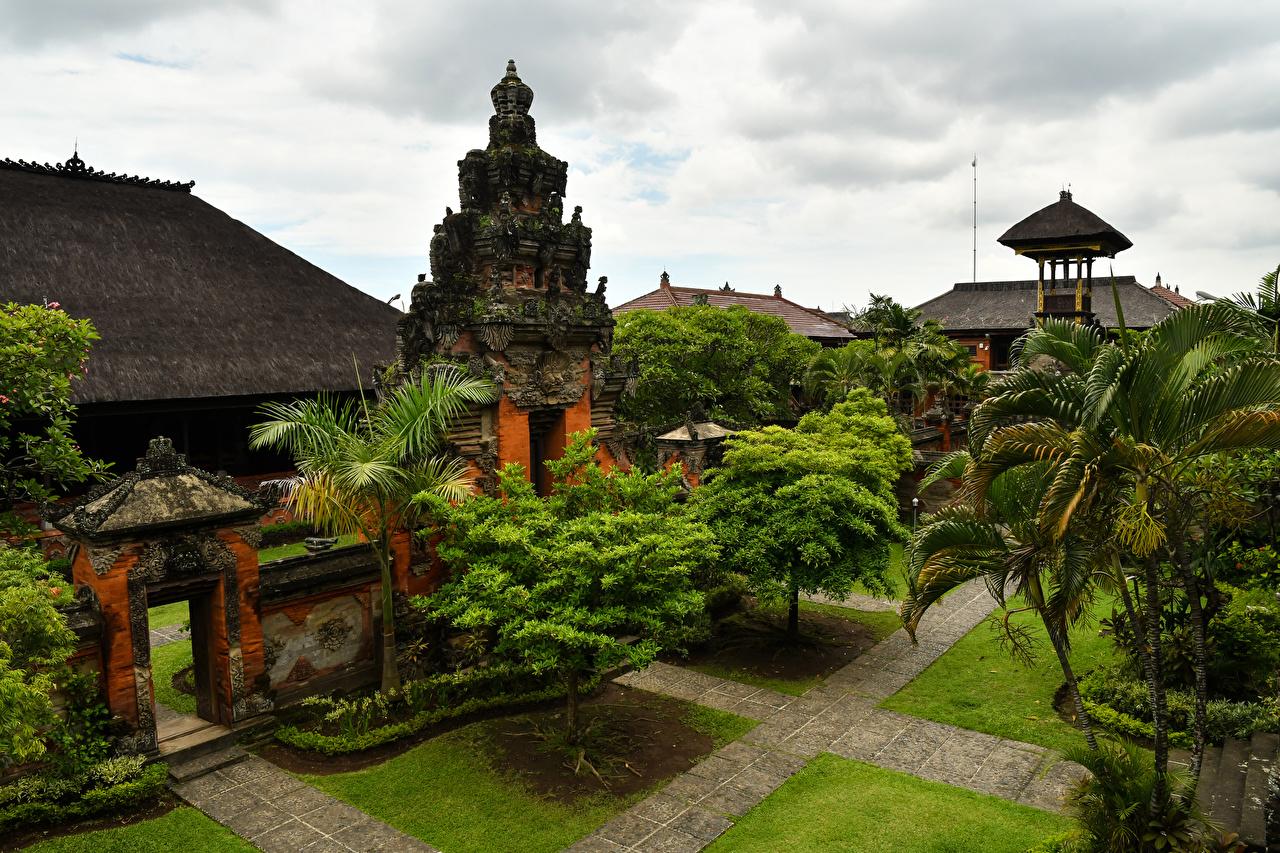 Fondos De Pantalla Indonesia Templo Bali Diseño árboles