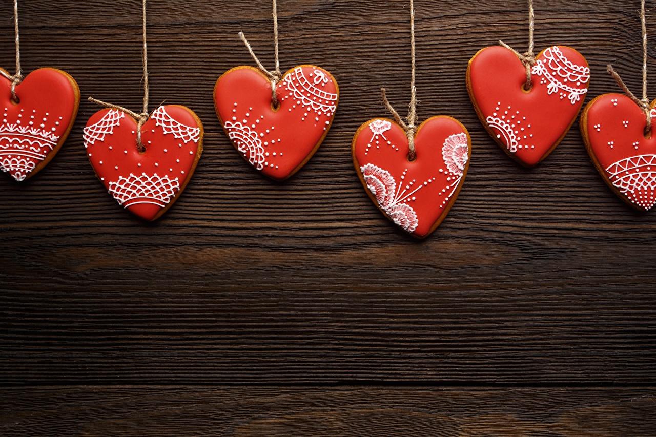 Bilder Valentinstag Herz Kekse Vorlage Grußkarte