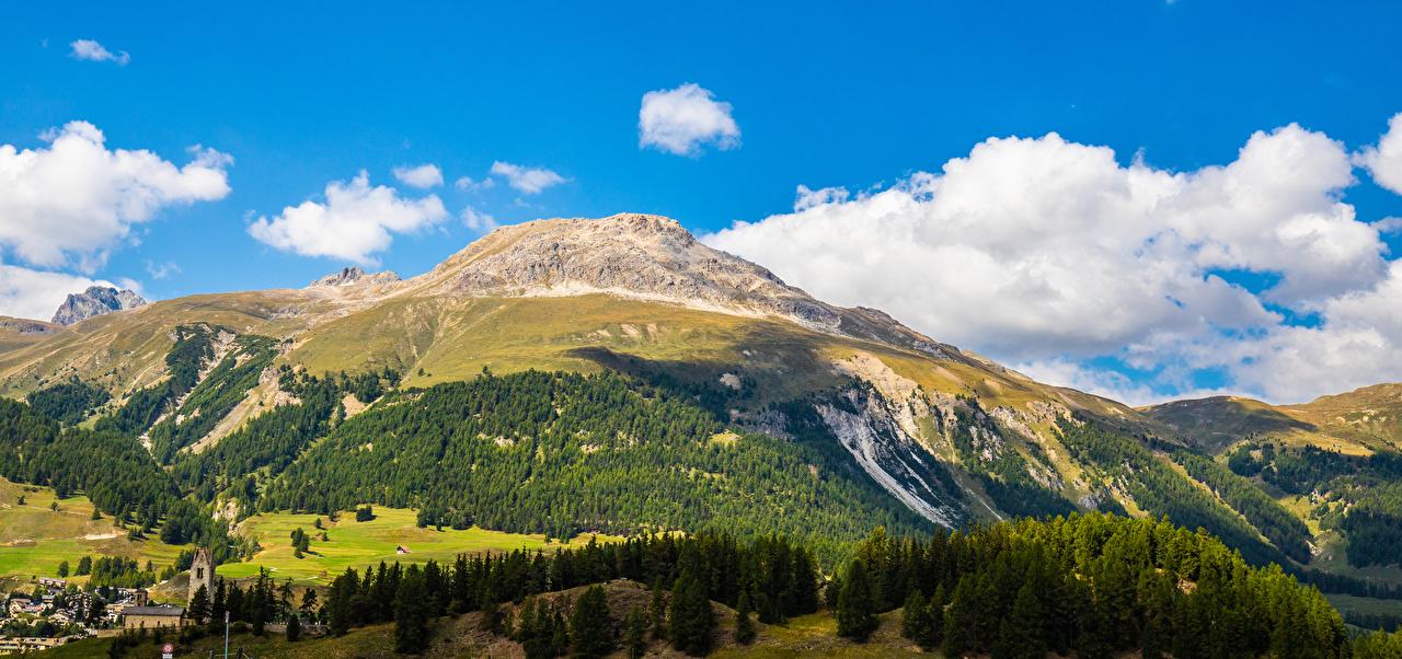 Fotos Alpen Schweiz Panoramafotografie Albula Pass Berg Natur Landschaftsfotografie Wolke Panorama Gebirge