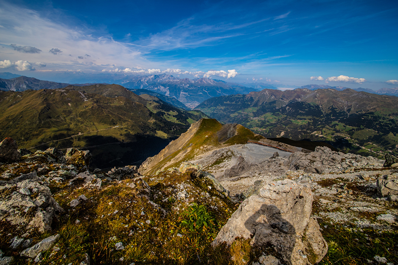Images Alps Switzerland Rock Nature mountain Sky Crag Cliff Mountains
