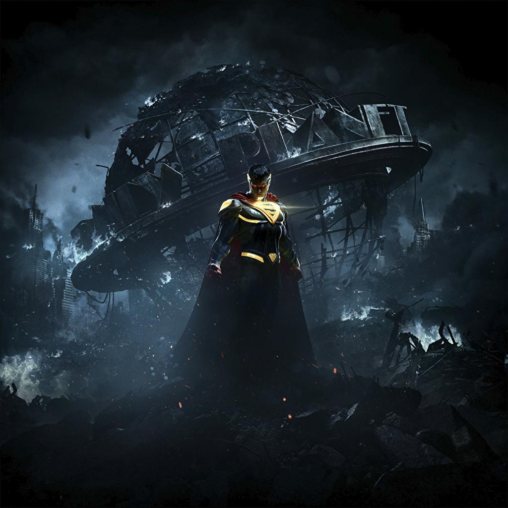 Heróis de quadrinhos Superman Herói Injustice 2 Noite videojogo, super-heróis Jogos
