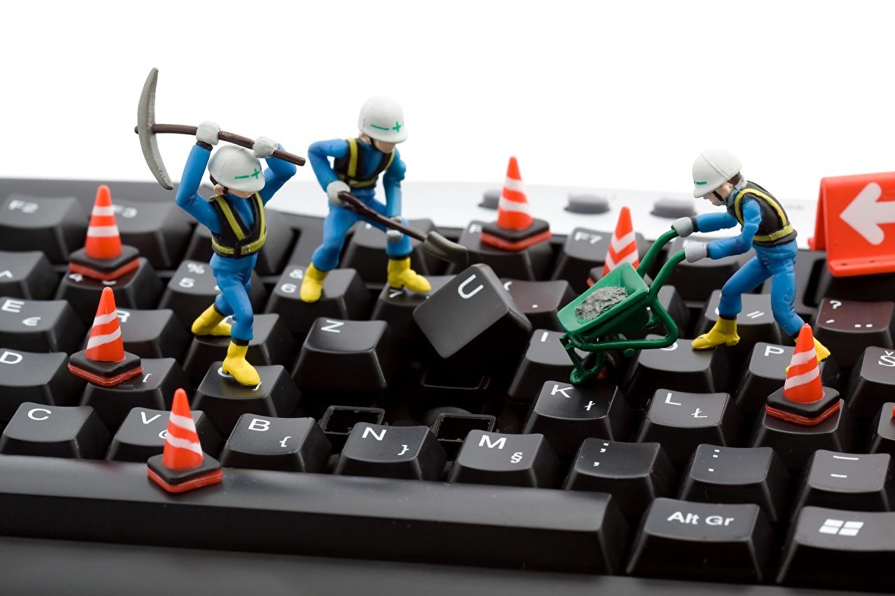 Photos Keyboard Toys Closeup Computers toy