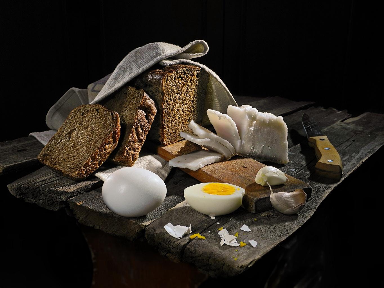 Image egg Salo - Food Bread Allium sativum Food Eggs Garlic