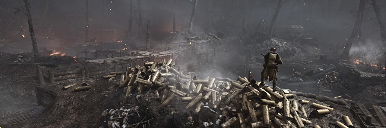 Fotos Battlefield 1 Krieg Soldaten 3D-Grafik Spiele