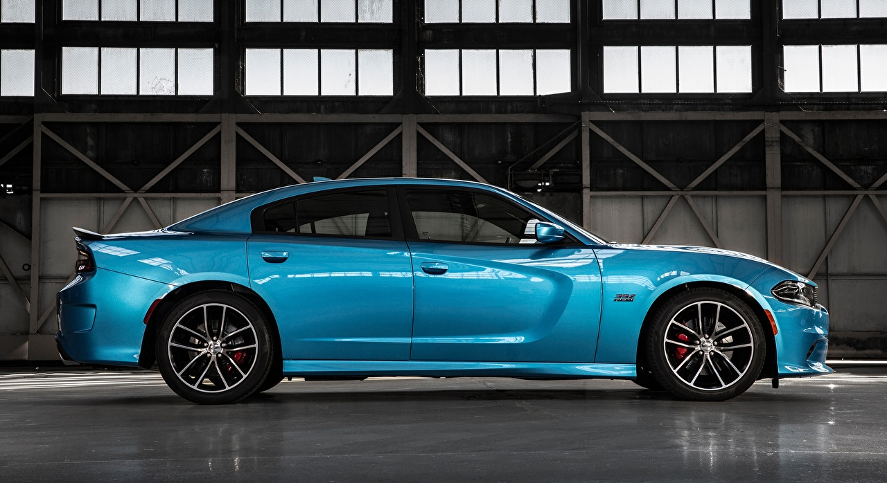 Photos Dodge Charger, R/T Scat Pack, 2015 Light Blue Side Cars Metallic auto automobile