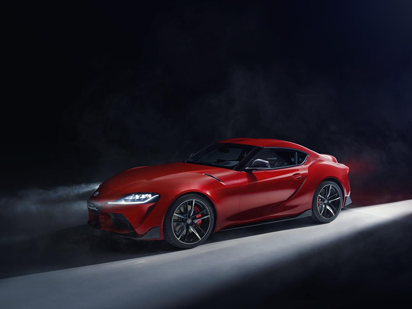 Foto Toyota Supra 2019 Rot Autos
