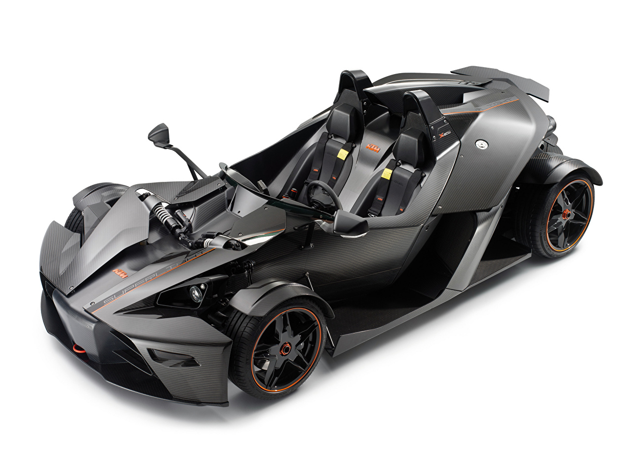Images KTM Cars Carbon fiber 2009-18 X-Bow Superlight Grey auto White background reinforced polymer plastic gray Cars automobile