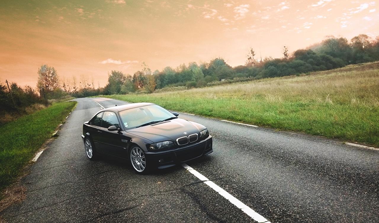 Wallpaper BMW M3, E46, Road Roads Asphalt automobile Cars auto