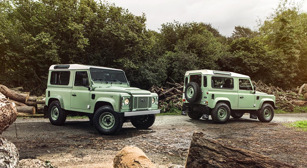 Afbeelding Land Rover SUV Defender, 90 Heritage, 2015 Twee 2 Auto terreinauto auto's automobiel