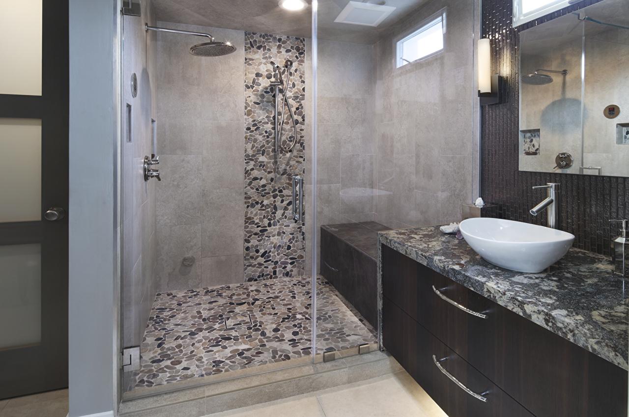 Fondos de Pantalla Diseño interior Diseño Cuarto de baño Lámpara ...
