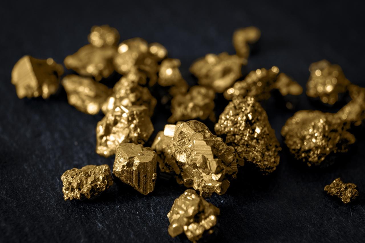 Bilder Gold stücke Viel Stück