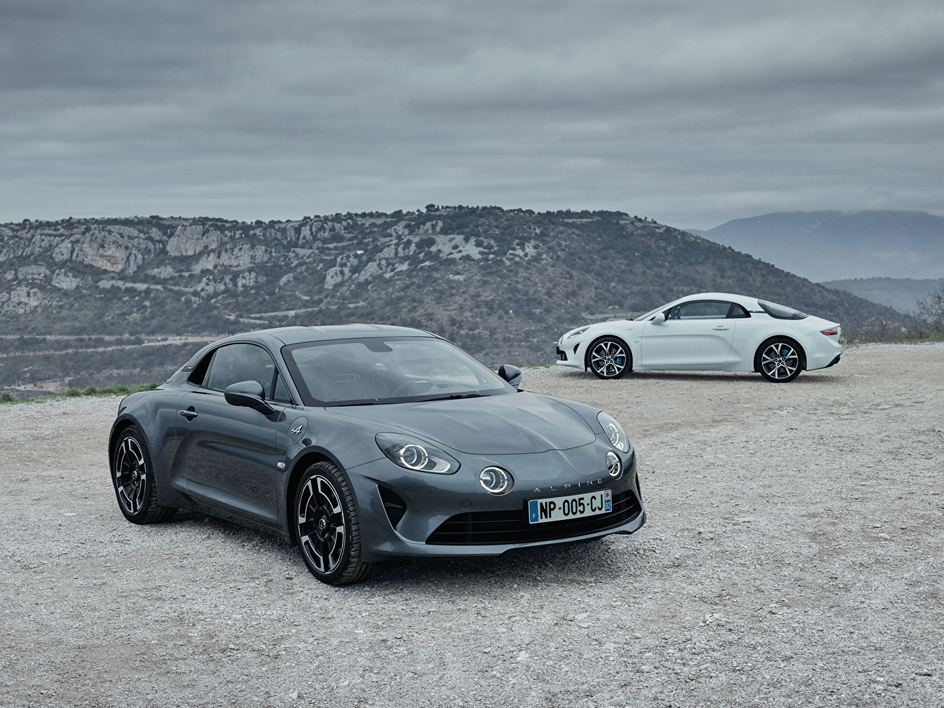 Picture Renault Alpine A110 Legende, Alpine A110 Pure 2 Cars Two auto automobile