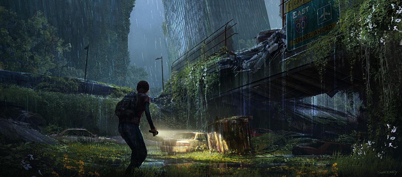Fondos De Pantalla The Last Of Us Lluvia Apocalipsis Ellie