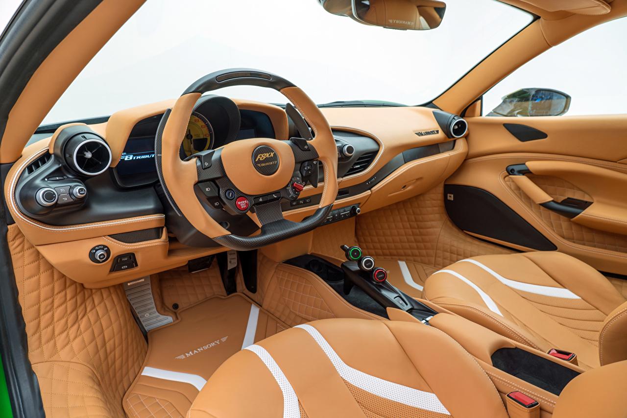 Bilder på skrivbordet Tuning Salons ratten Mansory F8XX, 2021 bil Bil ratt Bilar automobil