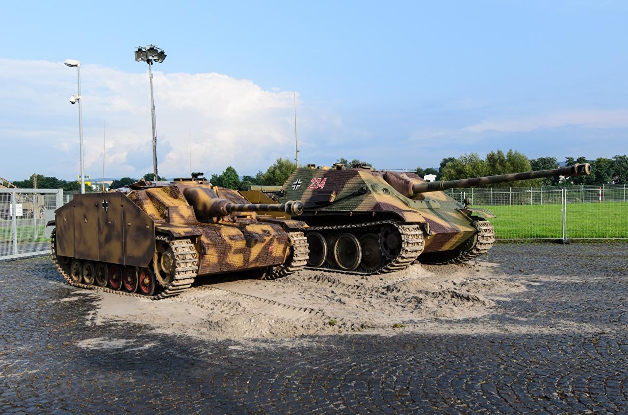 Bilde Selvdrevet artilleriinstallasjon Tysk To 2 Militærvesen tyske