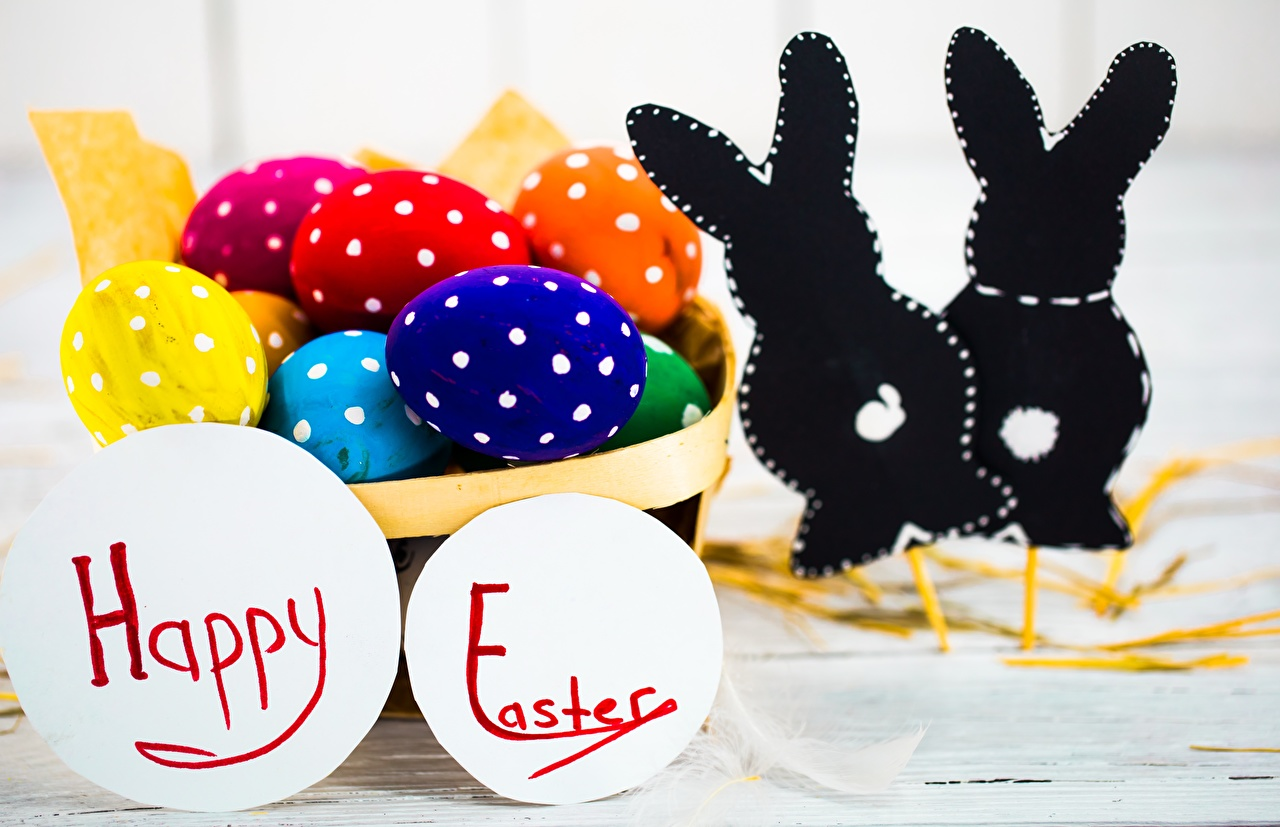 Photos Easter English egg text Eggs lettering Word - Lettering