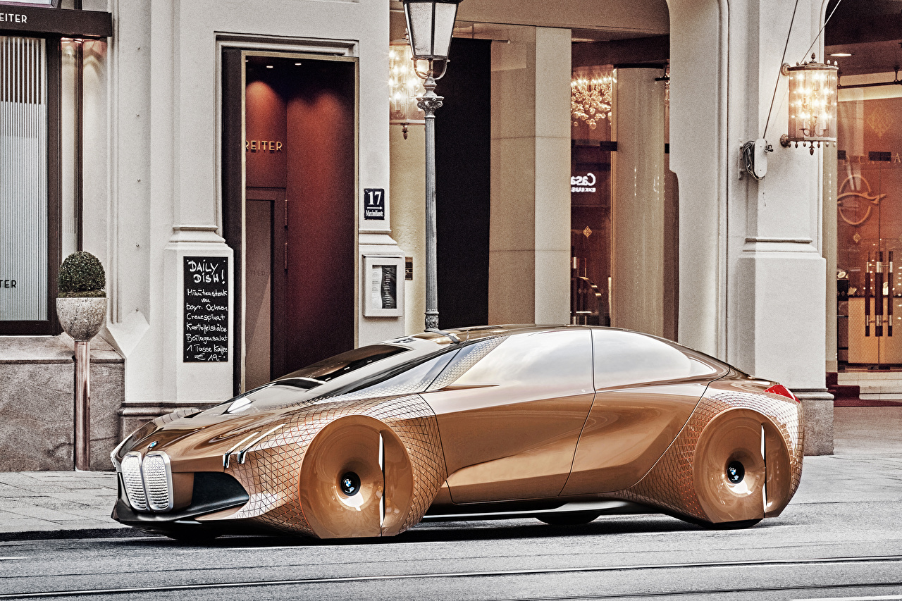 Images BMW Concept Vision Next 100 Cars auto automobile