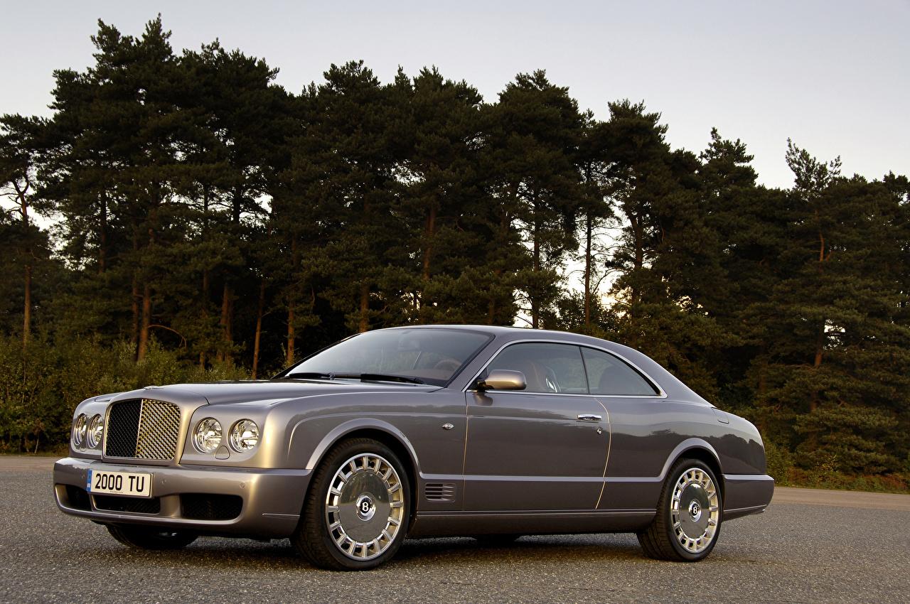 Picture Bentley 2008 Brooklands gray Metallic automobile Grey Cars auto