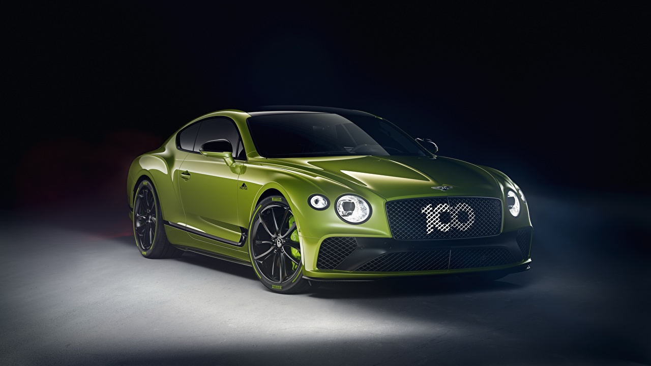 Picture Bentley Continental GT, Limited Edition 2020 Green auto Metallic Cars automobile