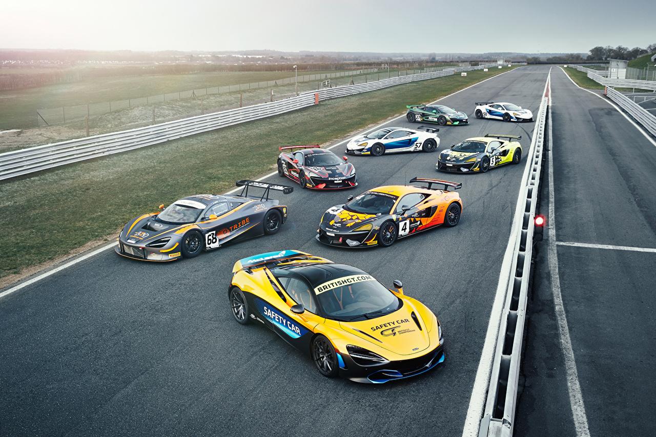 Bakgrunnsbilder Tuning McLaren Biler Mange bil automobil