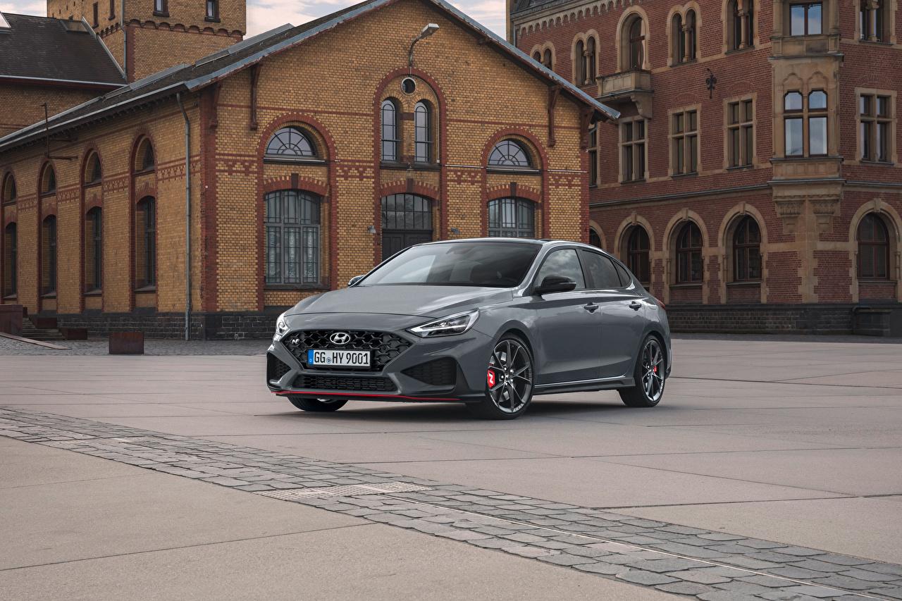 Image Hyundai i30 Fastback N, (Worldwide), (PD), 2021 Grey Cars Metallic gray auto automobile