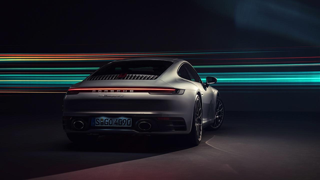 Fotos Porsche 911 Carrera 4S 2019 Autos Hinten
