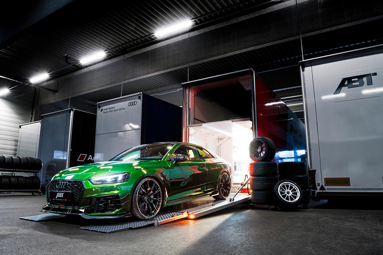 Fondos De Pantalla Audi Tuning 2018 Abt Rs 5 R Coupe Verde