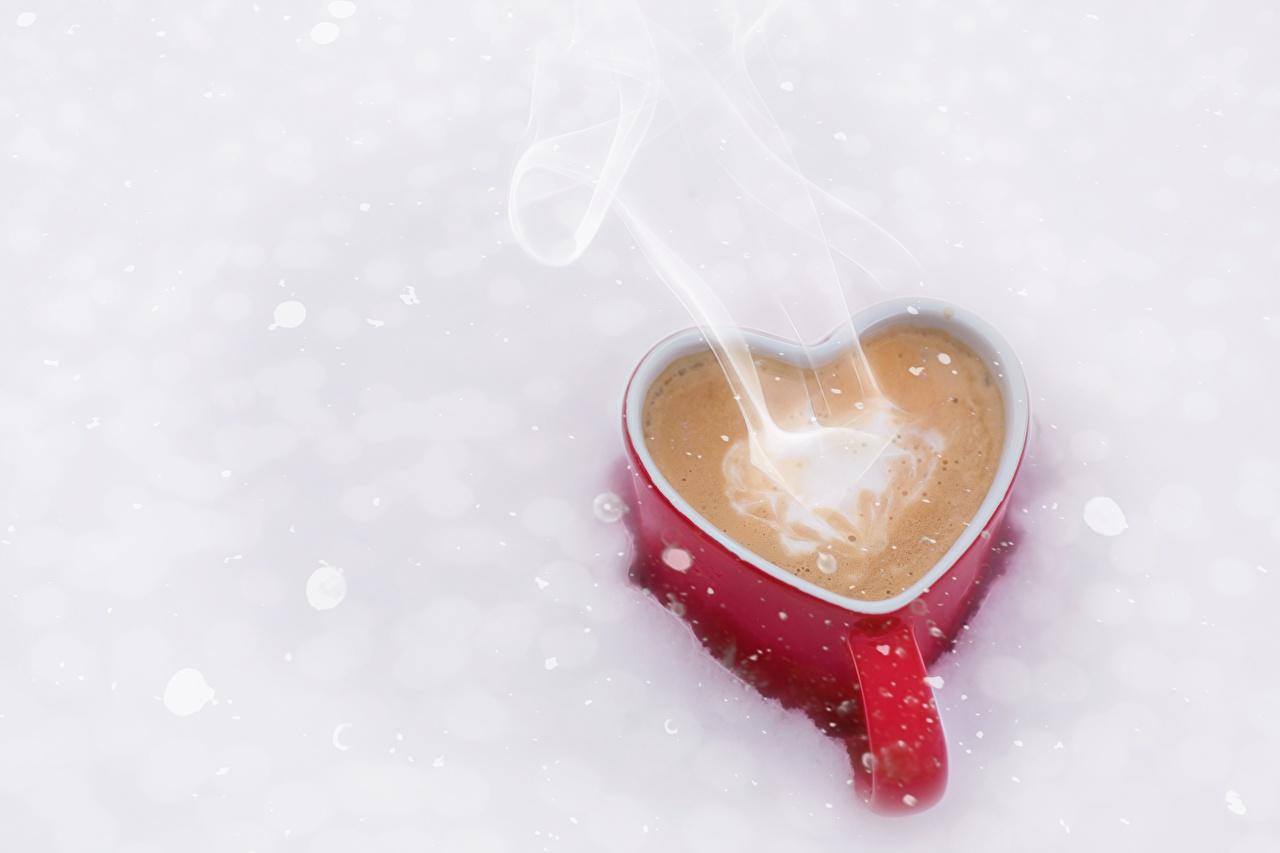 Photo Heart Coffee Mug Food Vapor