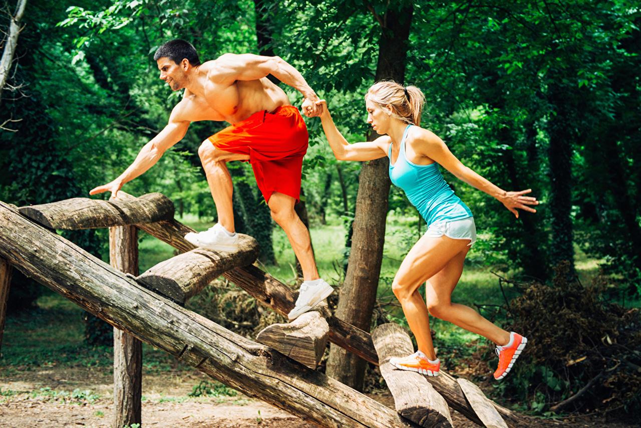 De Fitness Homem Dois Exercício   Pernas jovem mulher, mulheres jovens, moça, esporte, esportes, Aptidão física, 2, Exercício físico Desporto Meninas