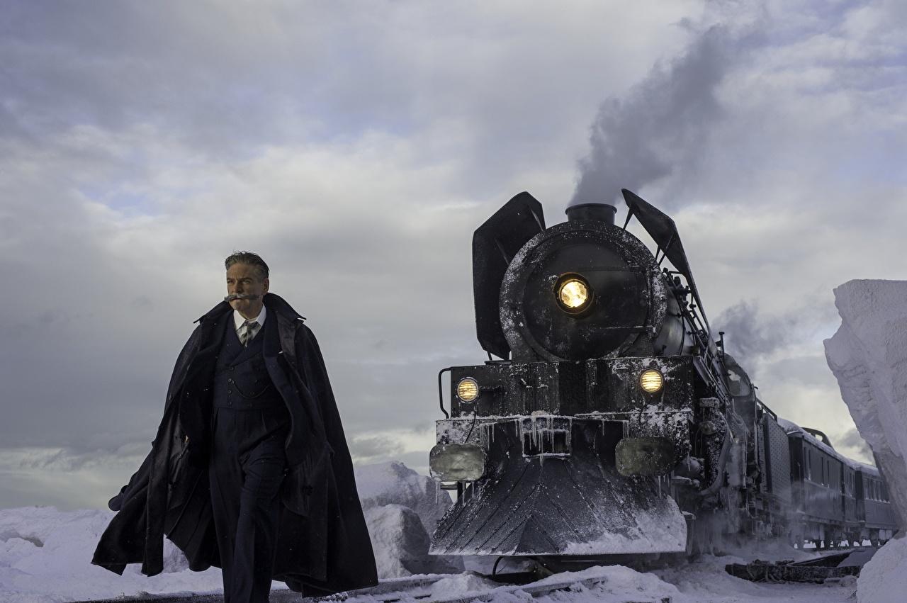 Tapety Morderstwo w Orient Expressie 2017 Mężczyźni Kenneth Branag film pociągi mężczyzna Filmy Pociąg