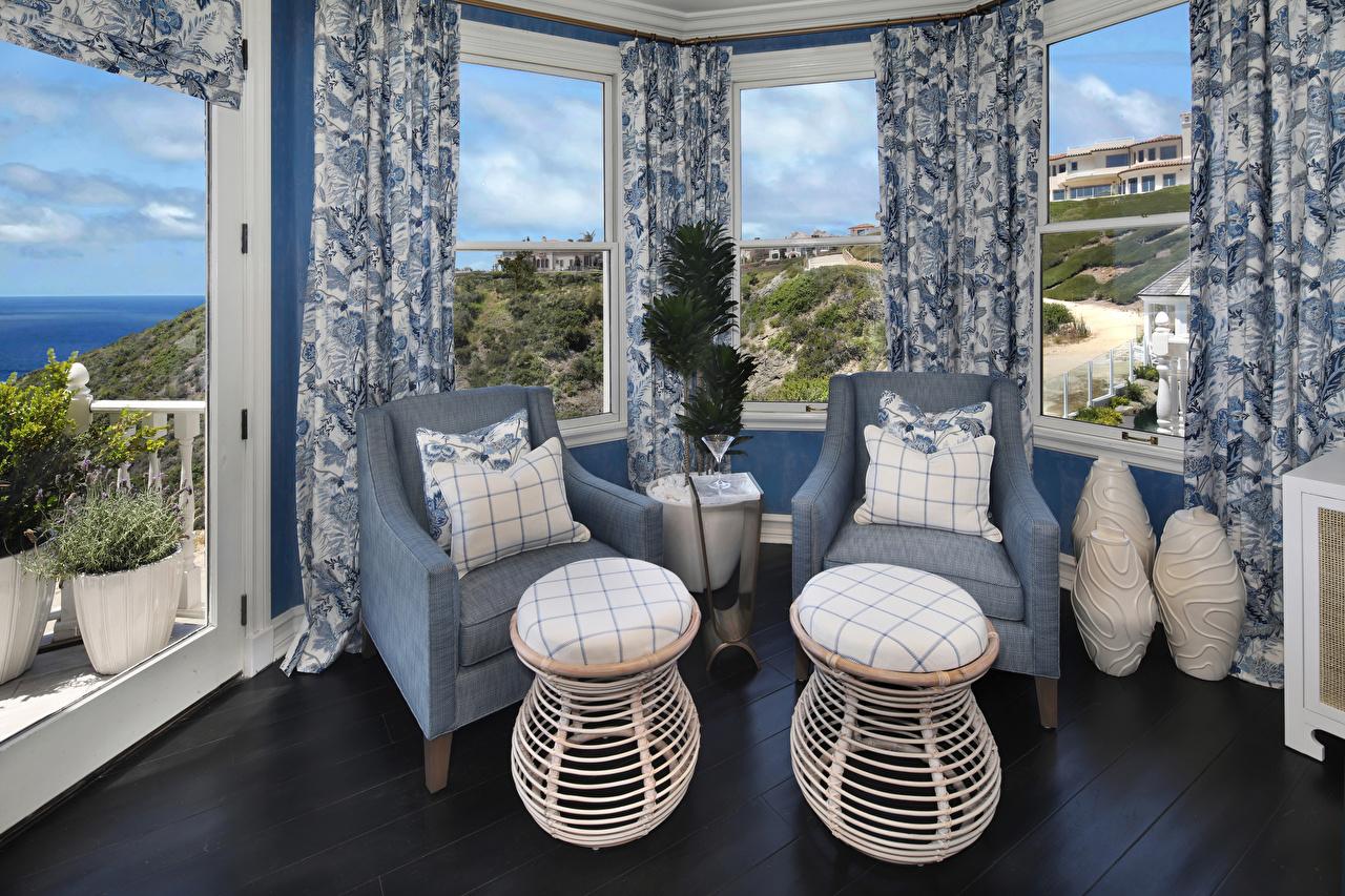 Bilder Wohnzimmer Innenarchitektur Sessel Fenster Kissen Design