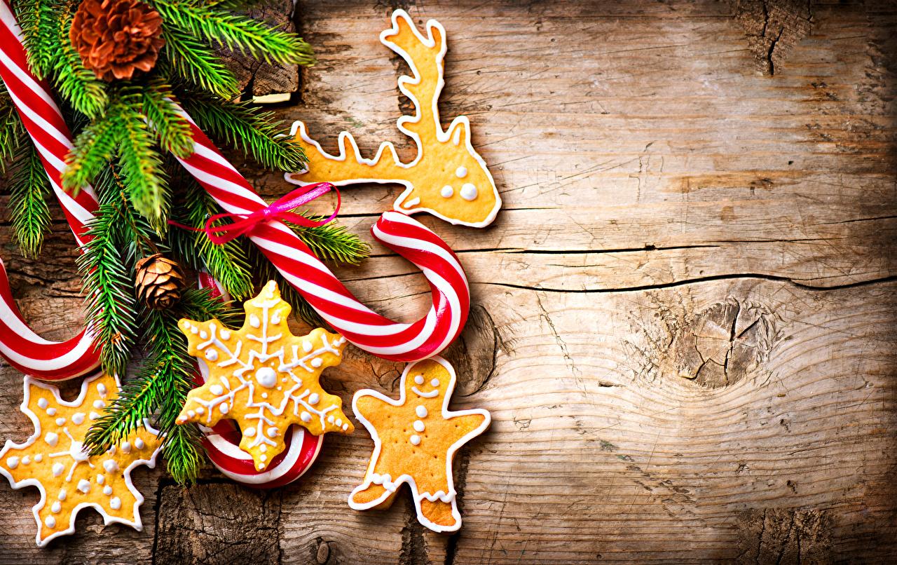 Bilder Neujahr Dauerlutscher Ast Kekse Lebensmittel Design Bretter das Essen